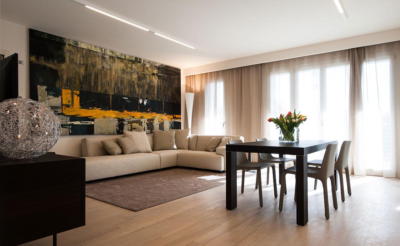 Attico con giardino pensile living ellepi interior design - Interior design italia ...